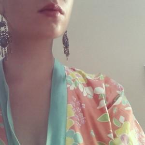 Joli tissus du jour kimono vintage inspiration aloneathome